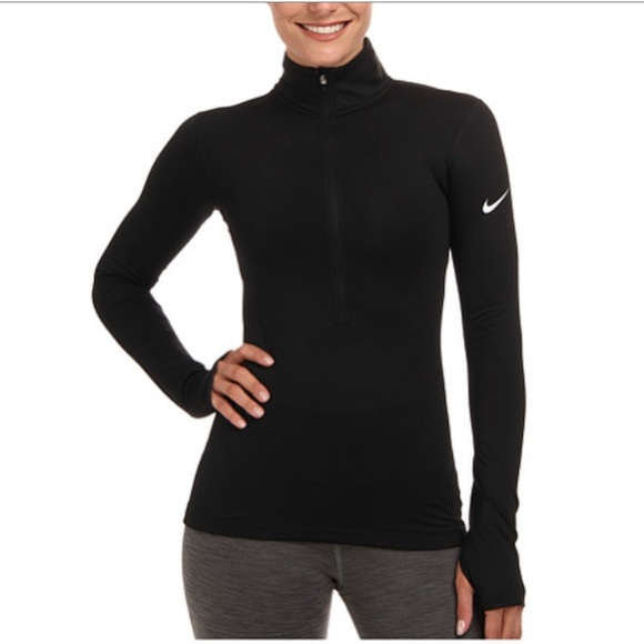 a98d230531940 Nike Pro Hyperwarm Half-Zip 3.0 Long Sleeve Shirt.  M_5c3d27a41b3294872473c575